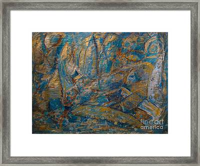Twilight Sails Framed Print