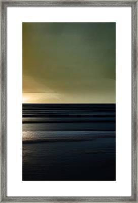 Twilight - Sauble Beach Framed Print