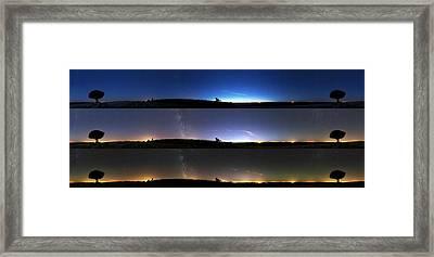 Twilight Sequence Framed Print by Laurent Laveder