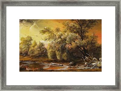 Twilight Framed Print by Sorin Apostolescu