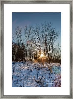 Twilight Spark Framed Print by Andrew Slater