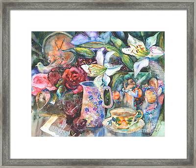 Twilight - Tribute To Sargent Framed Print by Kate Bedell