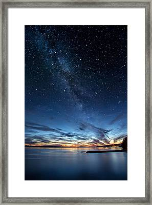 Twilight Twinkle Framed Print by Pierre Leclerc Photography