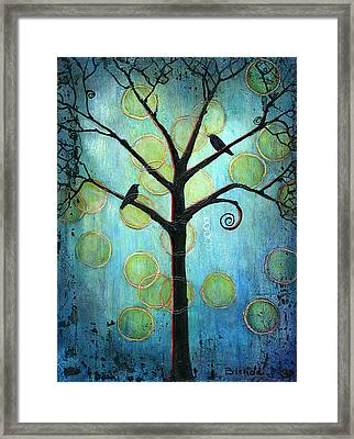 Twilight Version 2 Framed Print by Blenda Studio