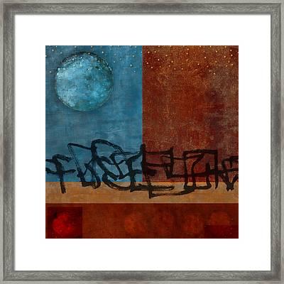 Twilight Walk Framed Print by Carol Leigh
