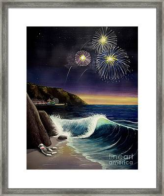 Twilight's Last Gleaming Framed Print by Jack Malloch