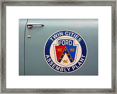 Twin Cities Assembly Plant Ford Framed Print