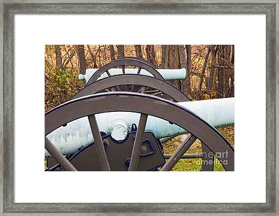 Twin Guns Framed Print by Paul W Faust -  Impressions of Light