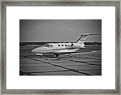 Twin Jet Framed Print