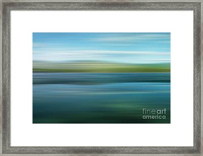 Twin Lakes Framed Print by Priska Wettstein