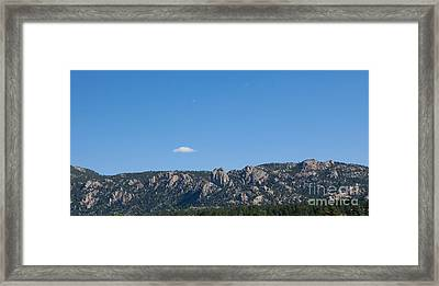 Twin Owls Estes Park Framed Print by Kay Pickens