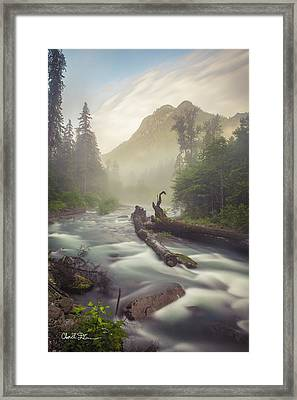 Twin Peaks Framed Print by Charlie Duncan