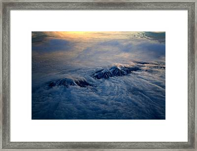 Twin Peaks Framed Print by Kunal Ghate