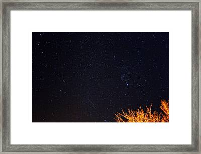 Twin Streams Framed Print by Bonfire Photography
