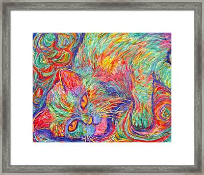 Twine Dreams Framed Print by Kendall Kessler