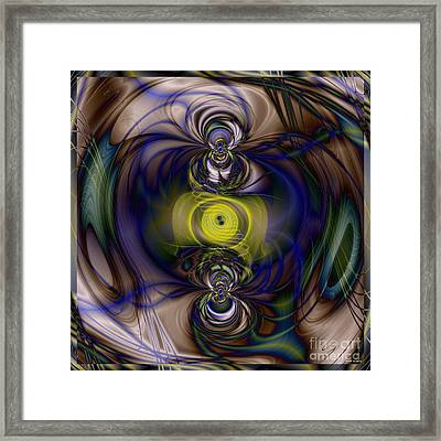 Twine Of Light Framed Print by Elizabeth McTaggart