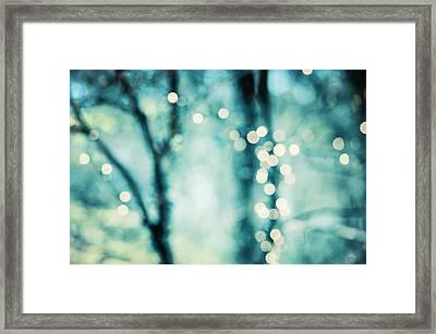 Twinkle Framed Print by Carolyn Cochrane