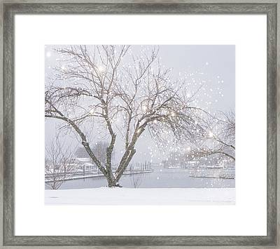 Twinkle Twinkle Framed Print by June Marie Sobrito