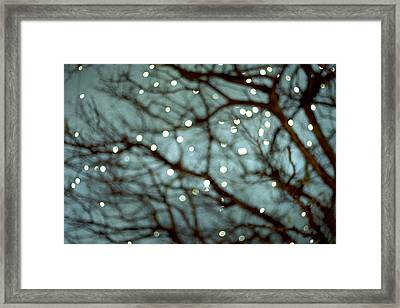Twinkle Framed Print by Violet Gray