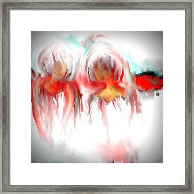 Twins Framed Print by Jessica Wright