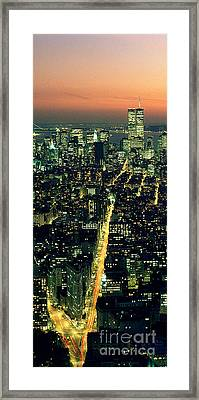 Twins Framed Print by Jon Neidert