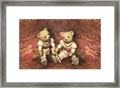 Twins Framed Print by Linda Phelps