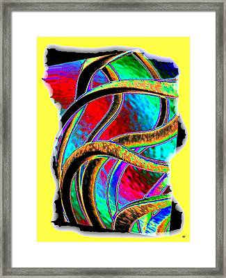 Twist And Shout 3 Framed Print by Will Borden