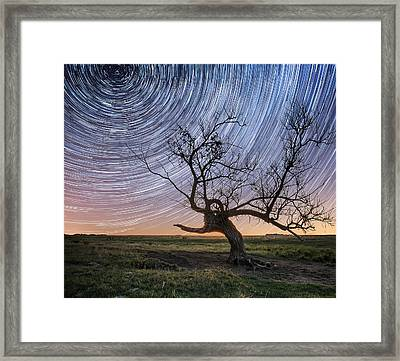 Twisted Framed Print by Aaron J Groen
