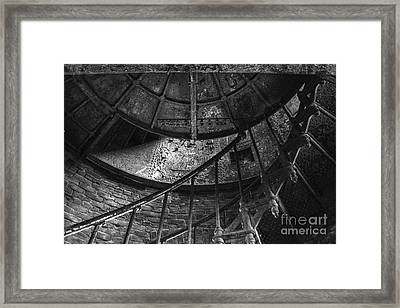 Twisted Framed Print by Amanda Sinco