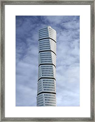 Twisted Architecture Framed Print