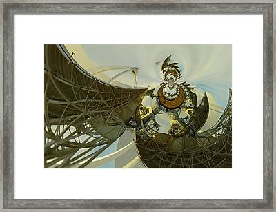 Twisted Beauty Of Chaso Framed Print by Jeff Swan