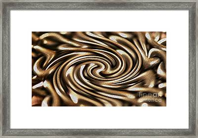 Twisted Chains Framed Print