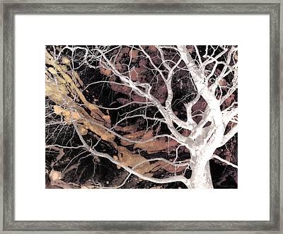 Twisted Dance - Dark Dreams Framed Print by Shawna Rowe