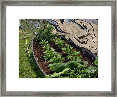 Twisted Garden Framed Print