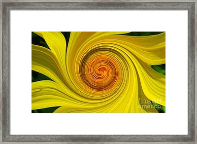 Twisted Framed Print by Janice Westerberg