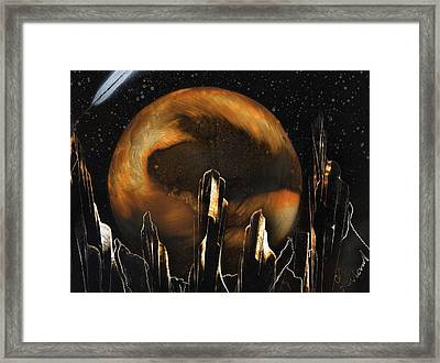 Twisted Framed Print