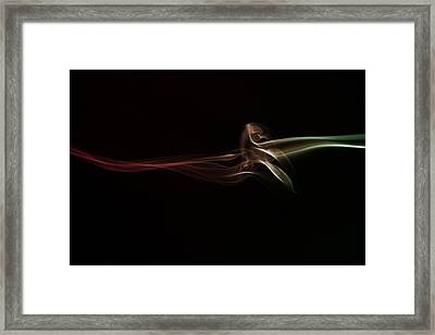 Twisted Framed Print by Mike Farslow