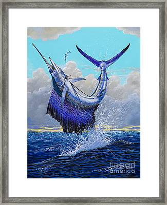 Twisted Off0013 Framed Print by Carey Chen