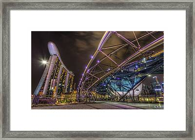 Twisted Path Framed Print by Mario Legaspi
