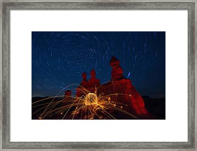 Twisted Sisters Framed Print
