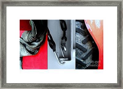 Twisted Sisters Framed Print by Marlene Burns