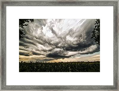 Twisted Sky Framed Print