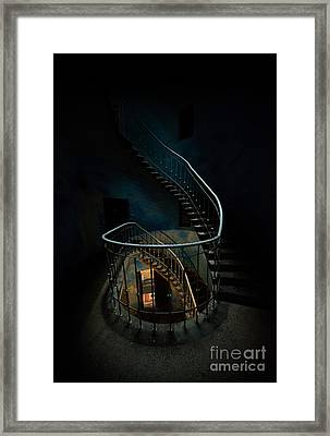 Twisted Staircase Framed Print
