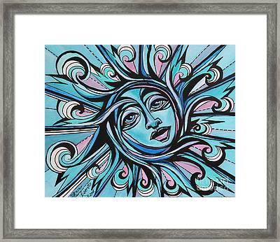 Twisted - Sun  Framed Print