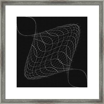 Twisted Wires Framed Print