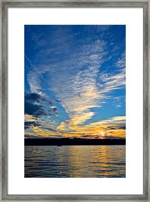 Twister Cloud Framed Print by Frozen in Time Fine Art Photography
