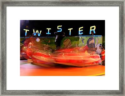 Twister Framed Print