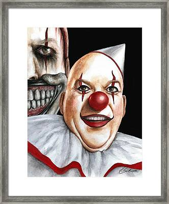 Twisty Montage Framed Print by Bruce Lennon