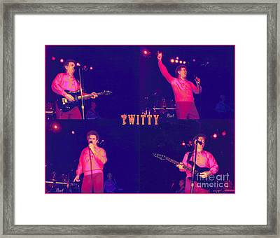Twitty Made Country Pop Framed Print