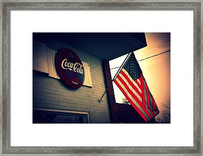 Two American Favorites Framed Print
